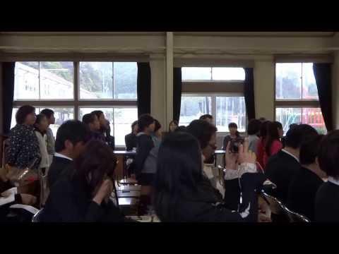 平成25年度尾鷲市立三木小学校卒業式/式歌(在校生編)