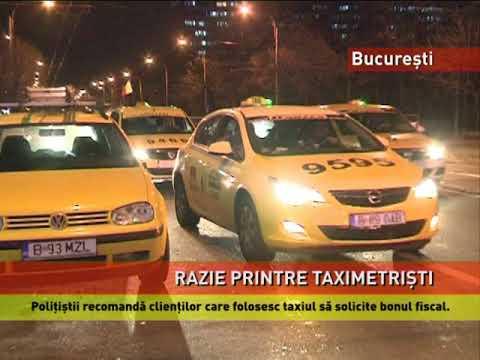 Nereguli grave în taximetria din București