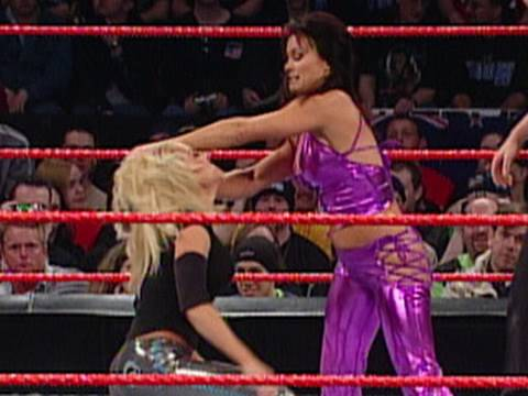 WWE Alumni: Ivory vs. Trish Stratus