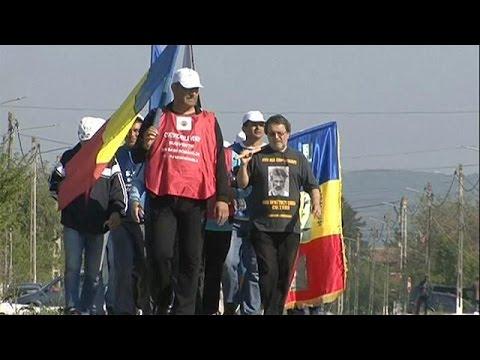 Ρουμανία: Κάθοδος μεταλλωρύχων προς το Βουκουρέστι
