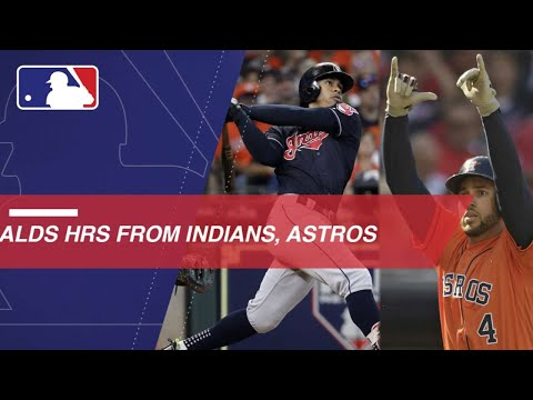 Video: Watch all the homers from the Indians and Astros ALDS