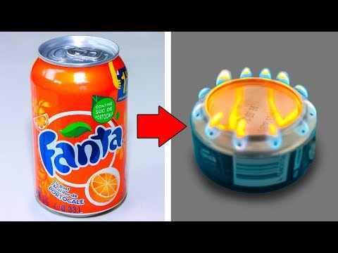 4 AWESOME IDEAS WITH ALUMINUM CANS