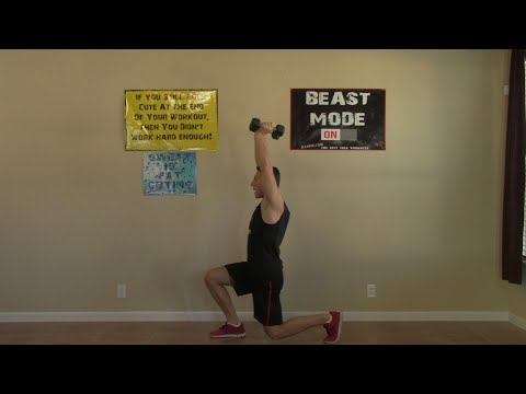 20 Min Weight Training at Home – HASfit Home Strength Training Workouts – Free Weight Exercises