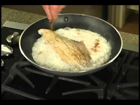Sautéed Catfish With Cajun Cream Sauce