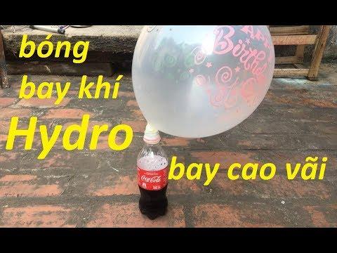 hướng dẫn làm bóng bay khí hidro từ vỏ lon coca cola - Thời lượng: 7 phút, 2 giây.