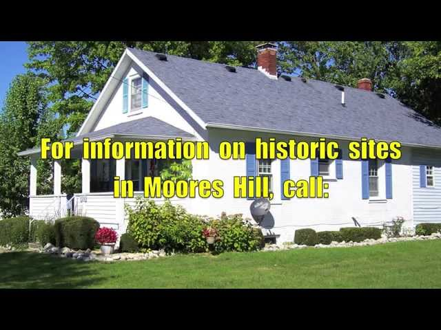 History  of  Moores  Hill,  Indiana