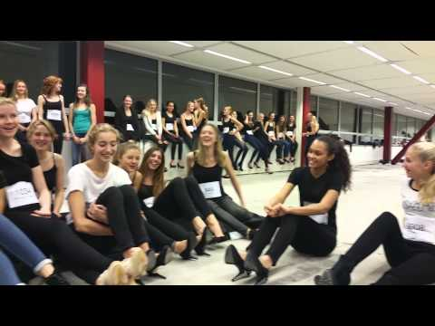 The model experience by Fourteen Model Management (видео)