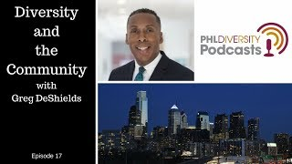 Episode 17 Diversity and the Community with Greg DeShields