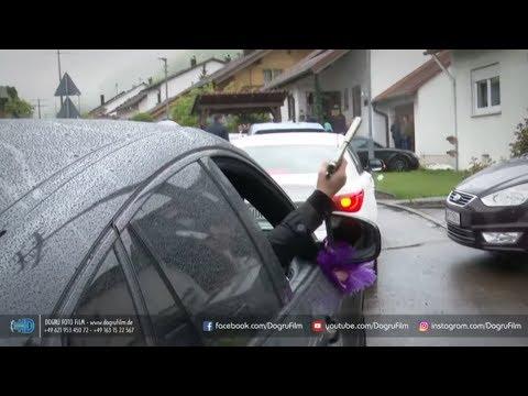Türkische Hochzeitsfeier in Aalen mit Revolvern und M ...