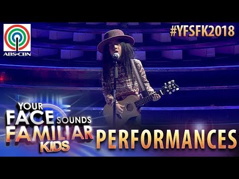 Your Face Sounds Familiar Kids 2018: Onyok Pineda as Freddie Aguilar | Bulag, Pipi, at Bingi (видео)