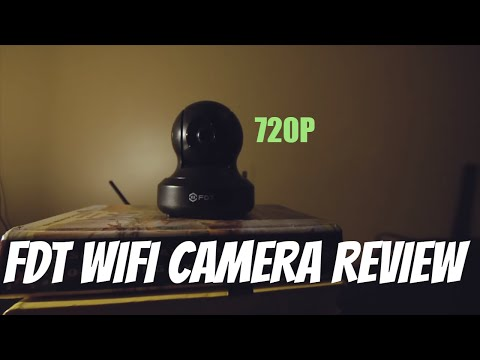 FDT Budget 720P WiFi IP Security Camera REVIEW