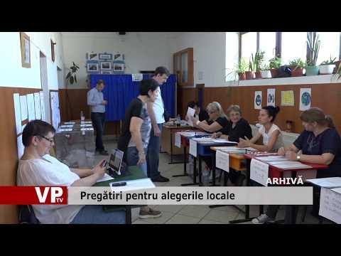 Pregătiri pentru alegerile locale