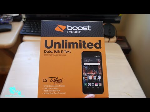 LG Tribute Dynasty Unboxing Boost Mobile HD