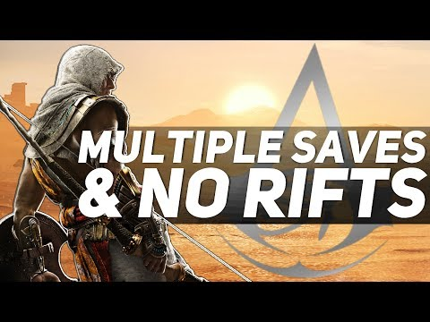 Assassin's Creed Origins NEW INFORMATION - Multiple Save Slots, NO RIFTS & More!