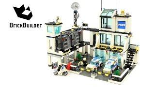 Lego City 7744 Police Headquarters - Lego Speed Build