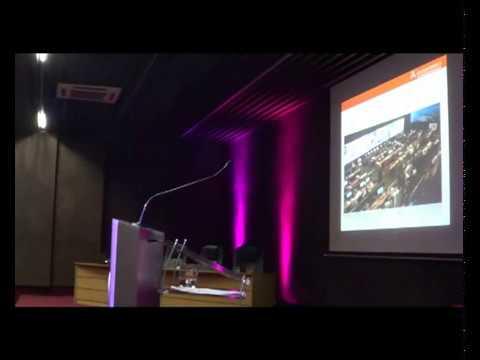 Marcos P. Clark Gavilán de AmericaInternet.cl en Seminario de Marketing y Tecnologias como Herramientas de Innovacion para las Empresas