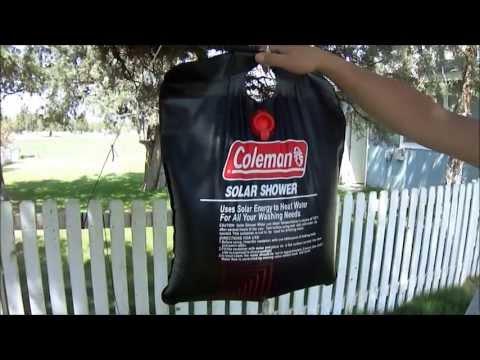 Coleman Solar Shower Review