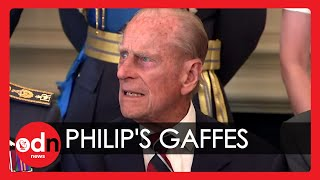 Video The Duke of Edinburgh's greatest gaffes caught on camera MP3, 3GP, MP4, WEBM, AVI, FLV Mei 2018
