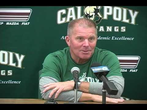 Cal Poly Head Football Coach Tim Walsh