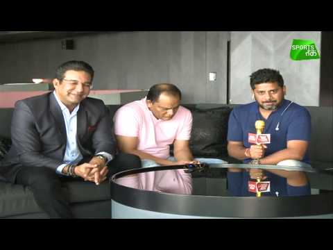 Live: Ind vs Pak, Preview With Wasim Akram & Mohammad Azharuddin | Asia Cup (видео)