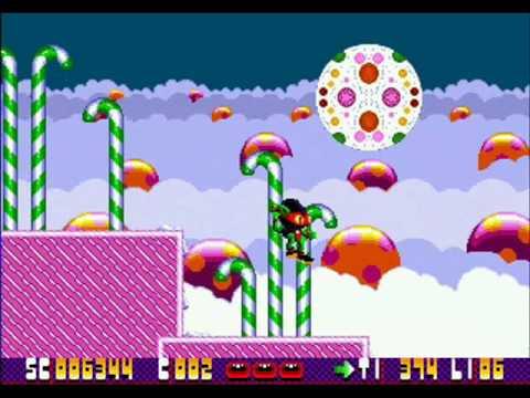 Zool (Mega Drive) Level 1-1