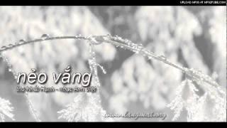 Nẻo Vắng - Thơ Nhất Hạnh - Nhạc Anh Việt