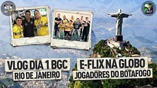 Eai rapaziada tudo certo? nosso vlog do primeiro dia de BGC com a galera em massa la, teve gravação com a Globo RJ e encontro com jogadores do ...
