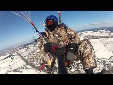 Полет на паралете 30.03.2014. Параплан. Пермь. Fly59 (видео)