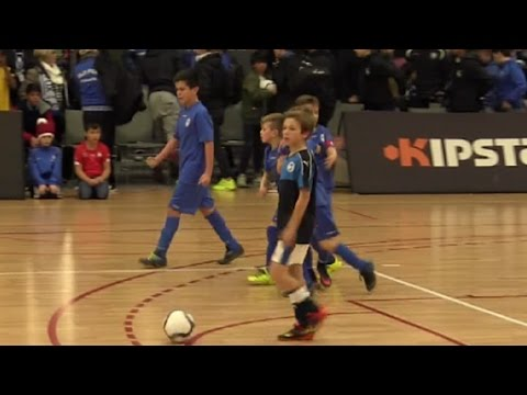 4ème match match Old Fox U13   Squadra Mouscron (видео)