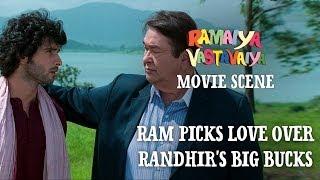 Nonton Ram Picks Love Over Randhir's Big Bucks - Ramaiya Vastavaiya Scene - Girish Kumar Film Subtitle Indonesia Streaming Movie Download