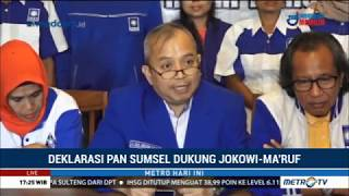Video DPW PAN Sumsel Deklarasi Dukung Jokowi-Ma'ruf MP3, 3GP, MP4, WEBM, AVI, FLV Desember 2018
