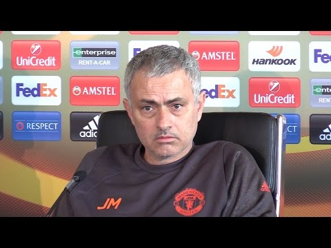 Jose Mourinho Full Pre-Match Press Conference - Manchester United v FC Rostov - Europa League (видео)