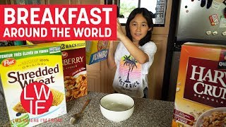 In this community video, we travel around the world and see what breakfast is like. Special Thanks! Maria from Heredia, Costa...