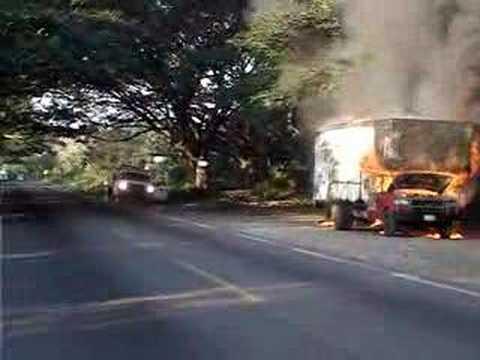 Gruas Aries 6-Camioneta Incendio