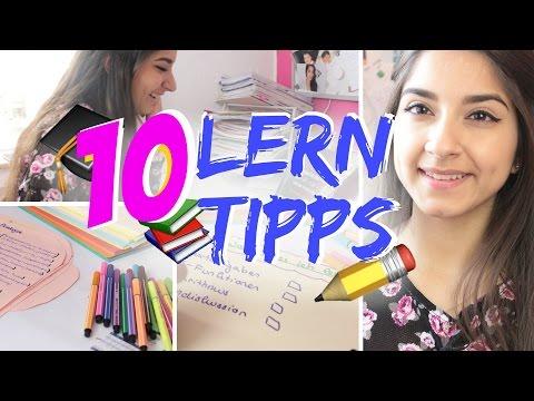 10 LERN - TIPPS für Prüfungen | Sanny Kaur (видео)
