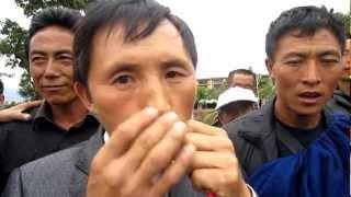 Xichang China  city photo : Ethnic Kou Xiang player in XiChang, China