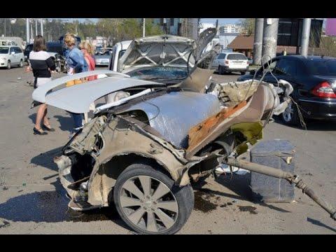 Новая подборка аварий и дтп  от 19.02.2016