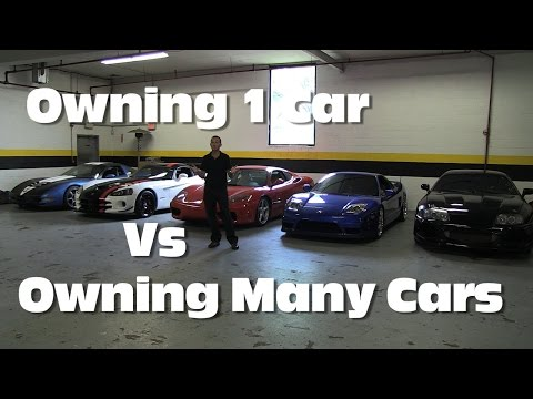 owning - Its personal preference and can obviously be scaled to your budget as to whether you would prefer to own 1 expensive car that maxes out your budget or multip...