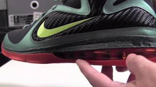 Nike LeBron 9 Cannon (Pre Heat) - YouTube
