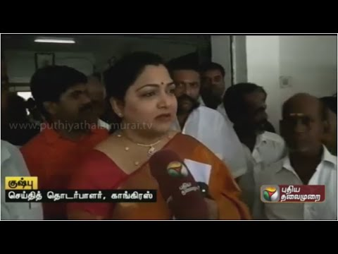 Piyush-Goyals-comments-on-Jayalalithaa-being-inaccessible-true-Kushboo