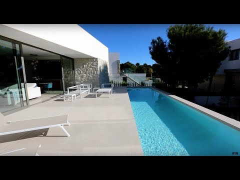 New modern villa in the best residential area of the Costa Blanca - Sierra Cortina (Spain, Benidorm)