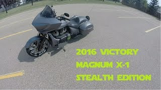 7. 2016 Victory Magnum X-1 Stealth Edition