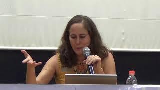 Palestra: Profa. Dra. Vania Bustamante