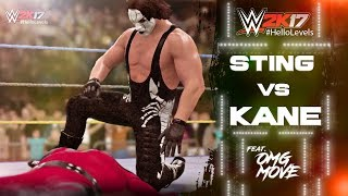 Playing As STING 99 vs Kane 98 In WWE 2K17 I'll Be Playing More Of WWE 2K17 On This Channel. If That Sounds Good To You,...
