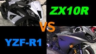 5. 2013 YAMAHA R1 or 2013 Kawasaki NINJA ZX10R? Which one? Why?
