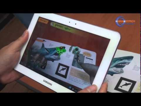Video of ARnJoy(한울네오텍 AR북 어플리케이션)