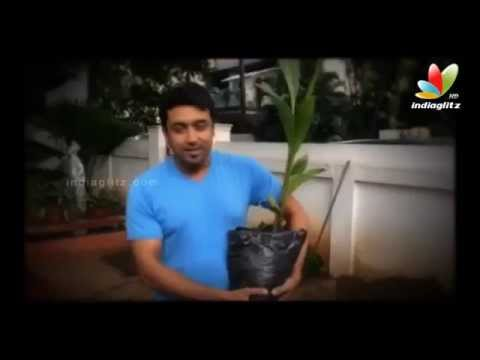Suriya takes on Mammoottys challenge | My Tree Challenge | Aamir Khan, Mahesh Babu and Sudeep