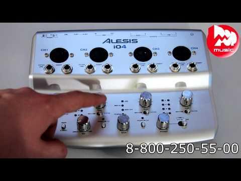 Аудио интерфейс ALESIS IO|4
