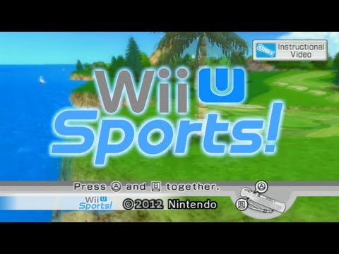 Introducing Wii U Sports!