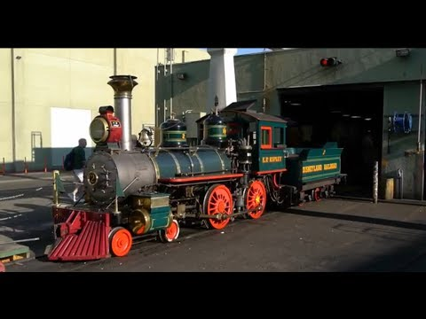 railroad - Walt Disney built several model railroads, but his greatest is the Disneyland Railroad. While not a